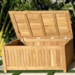 "Royal Teak 53"" Cushion Storage Box"