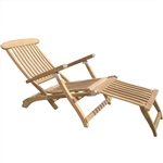 Royal Teak Steamer  Chair