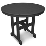 "Polywood Round 36"" Dining Table"