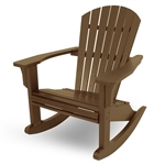 Polywood Seashell Rocker