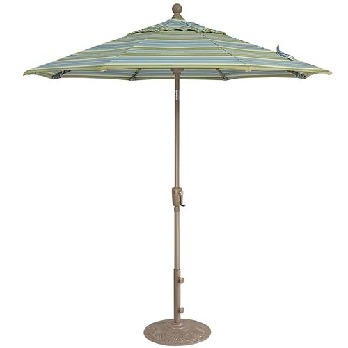 Treasure Garden 9u0027 Push Button Tilt Market Umbrella Larger Photo Email A  Friend