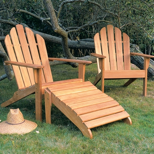 Kingsley Bate Adirondack Benches