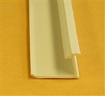 Snap-in Glazing vinyl for 22x36 Morton Beige door lite