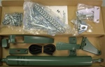Replacement AJ Storm Door Hardware Kit - Green. Works for all AJ Manufacturing Storm Doors including AJ Stormdoors purchased at Menards.