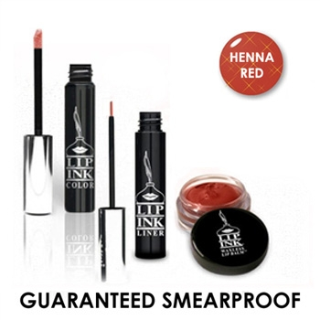 LIP INK Henna Red Smear proof Lip Stain Collection