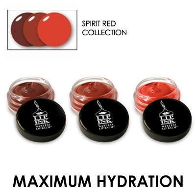 Tinted Waxless Lip Balm Collections - Spirit Red Collection