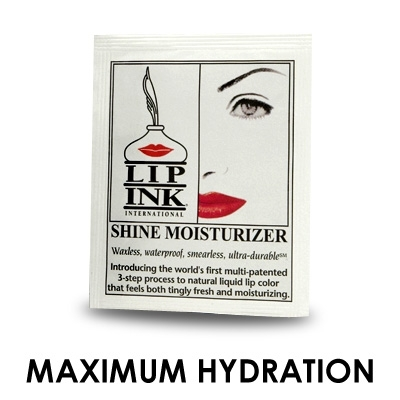 LIP INK Shine Moisturizer Packet - Sample Size