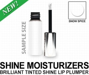 Brilliant Tinted Shine Lip Plumper - Snow Spice (Sample Size)
