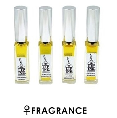 LIP INK Women's Essential Oil Fragrance Collection L.I.F.E. = Love, Integrity, Freedom & Empowerment