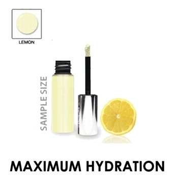 Flavored Lip Shine Moisturizer - Lemon Mint (Sample Size)