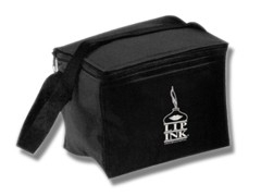 LIP INK Black Lunch Box with Logo