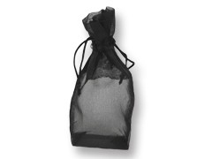 LIP INK Black Organza Drawstring Gift Bag