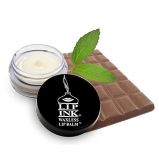 LIP INK Men's Flavored Waxless Lip Balm - Chocolate Mint
