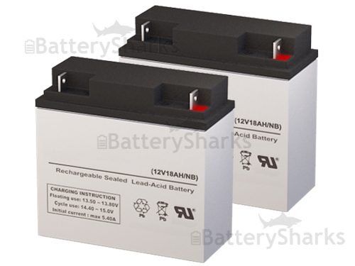 12v 18ah Battery >> Set Of Two 12v 18ah Batteries Shipping Included