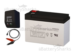 12V 7AH SLA AGM Battery And a 12V Charger