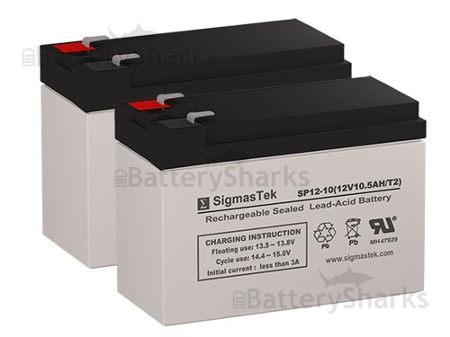 IZIP I-500 Electric Scooter Battery Set