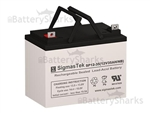 Exell Battery EB12350 NB (Group U1)