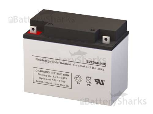 Johnson Controls GC6200 Battery (Replacement)