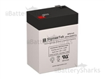 B&B Battery BP4.5-6