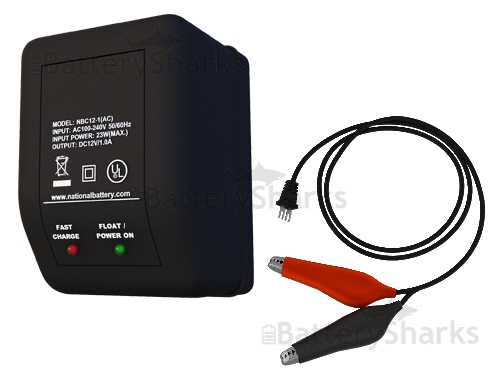 12 Volt 1 Amp Battery Charger 12v 1ah