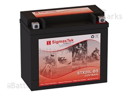 everstart es20lbs replacement motorcycle battery 12v 18ah