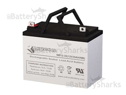 Nb12 35 National Battery Replacement Sla Battery 12v 35ah