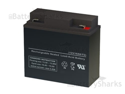 Ub12180 40648 Universal Power Replacement Sla Battery