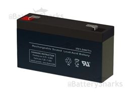 Ub613 D5731 Universal Power Replacement Sla Battery 6v