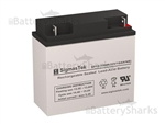 Exell Battery EB12180 High Rate