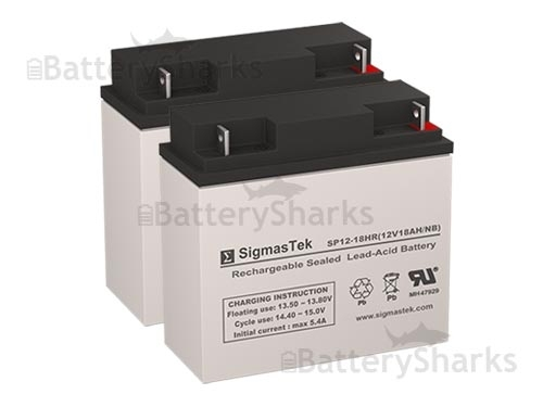 Apc Rbc7 Compatible Batteries 2 Batteries 12v 18ah