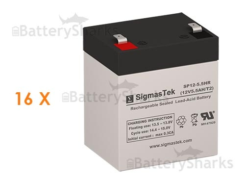APC Smart-UPS SURTA3000RMXL3U Replacement Battery Pack Rechargeable, high Rate
