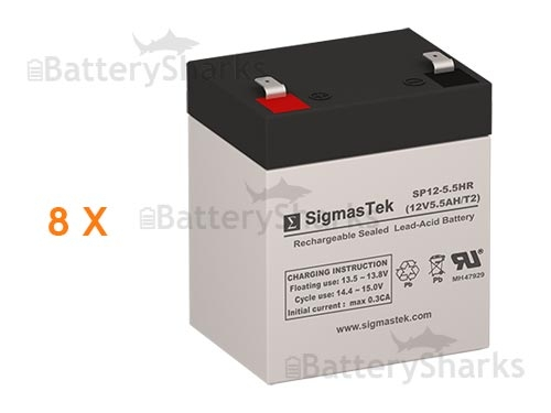 DLA3000RMT2U Battery Pack Compatible Replacement for APC Smart-UPS 3000 RM 2U 208V by UPSBatteryCenter