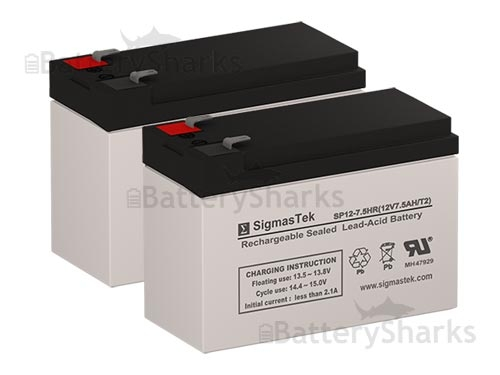 BR800BLK UPSBatteryCenter RBC32 Compatible Replacement Battery Pack for APC Back-UPS RS 800VA