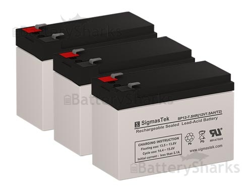 MGE Pulsar EX 30 Rack 12V 7Ah UPS Battery This is an AJC Brand Replacement