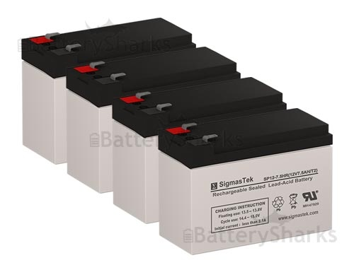 New Battery Pack for APC Smart UPS 1000 RM 2U SUA1000RM2U Compatible Replacement by UPSBatteryCenter