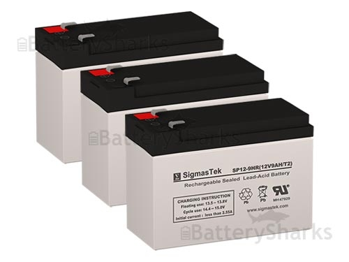 Eaton Powerware PW5115-1500 Tower UPS Battery Set (Replacement)