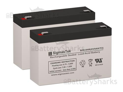 CyberPower OR500LCDRM1U UPS Battery Set (Replacement)