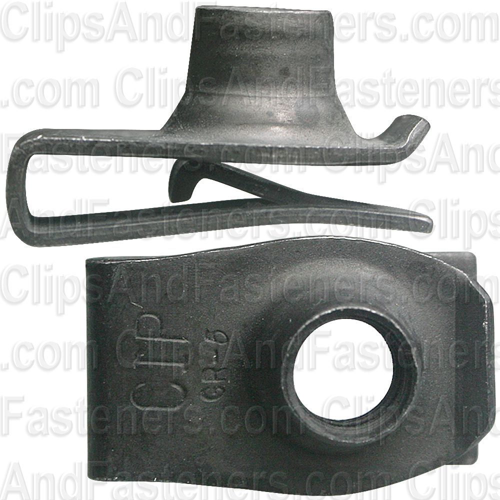 Clipsandfasteners Inc 25 Extruded U Nut 5//16-18 Screw Size Compatible with GM 1494258 Compatible with Ford 379831-S