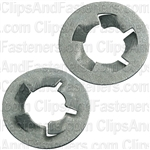 "5/16"" Pushnut Bolt Retainer 5/8"" O.D. Zinc"