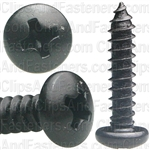 #8 X 3/4 Phil Pan Hd T.S. Black Oxide