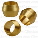 Brass Fitting Sleeve 1/4