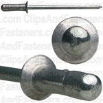 Avex Blind Rivet Countersunk 1/8 Dia1/4 Grip