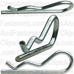 Hair Pin Cotter 5/64 - .080 Wire - Zinc