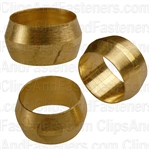 Brass Fitting Sleeve 3/8