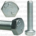 5-.8 X 25mm Din 933 Cap Screwcl8.8 - Zinc