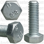8-1.25 X 25mm Din 933 Cap Screwcl8.8 - Zinc