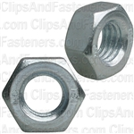8mm-1.25 DIN 934 Metric Hex Nuts - Zinc