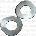 5mm DIN 137B Metric Spring Washers - Zinc