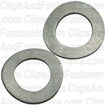 8mm DIN 137B Metric Spring Washers - Zinc