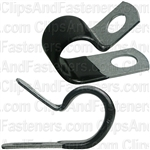 Closed Clamp 5/8 - Galvanized Vinyl Coated